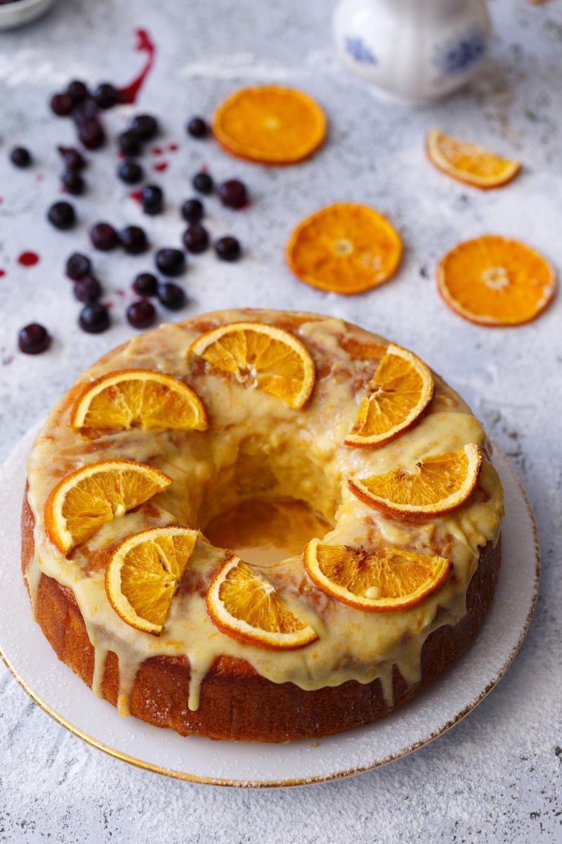עוגה בחושה תפוזים