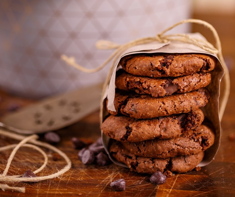 עוגיות שוקולד פאדג'  (ללא גלוטן)