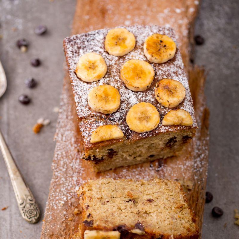 עוגת בננות טבעונית