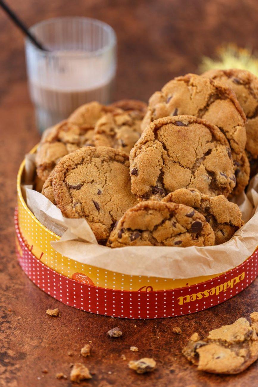 עוגיות שוקוצ'יפס טבעוניות