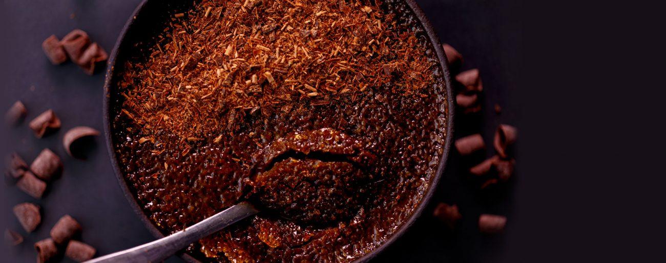קרם ברולה שוקולד