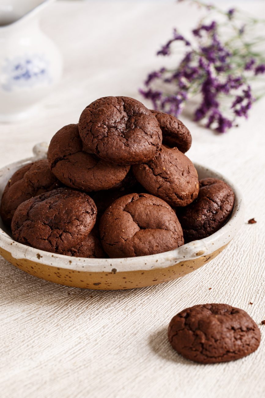 עוגיות שוקולד רכות