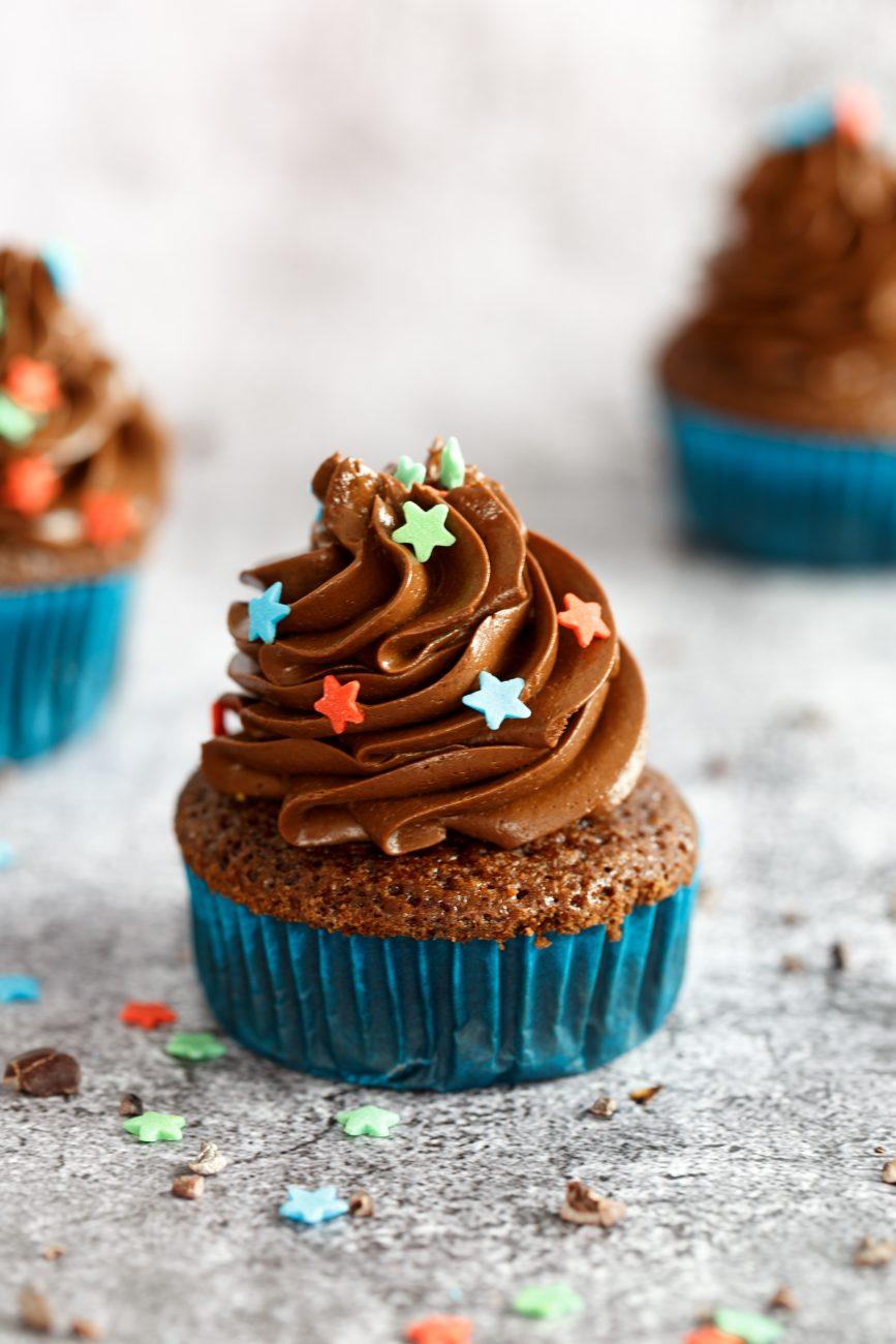 פורסטינג שוקולד לקאפקייקס