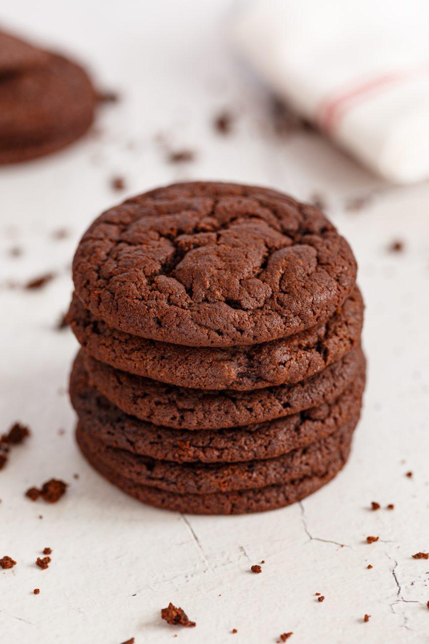 עוגיות צ'ואיות שוקולד